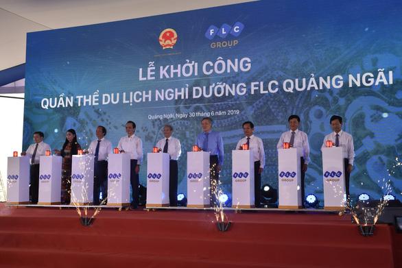 FLC bỏ 11.000 tỉ xây quần thể du lịch tại Quảng Ngãi