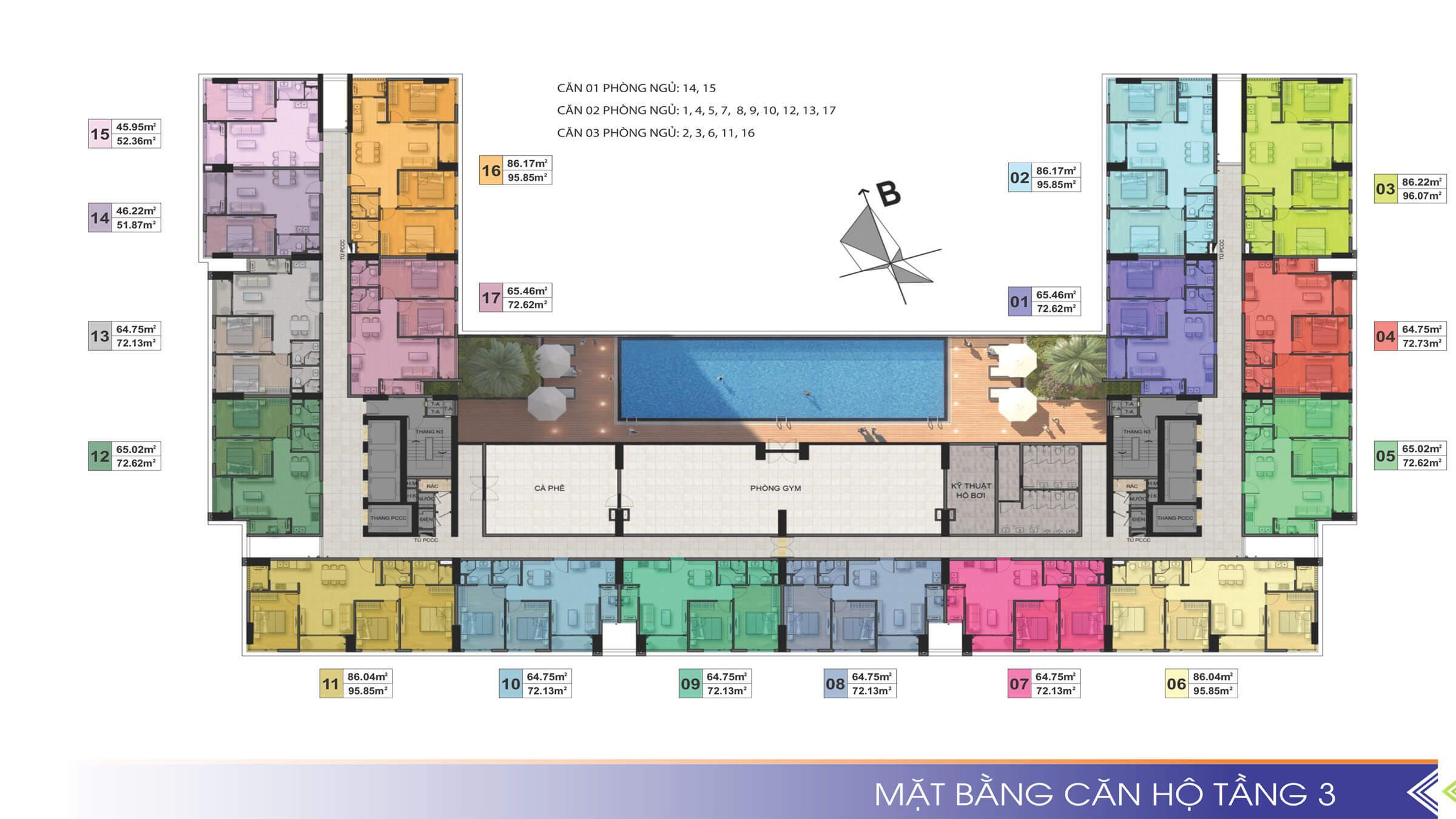 mat bang can ho tang 3
