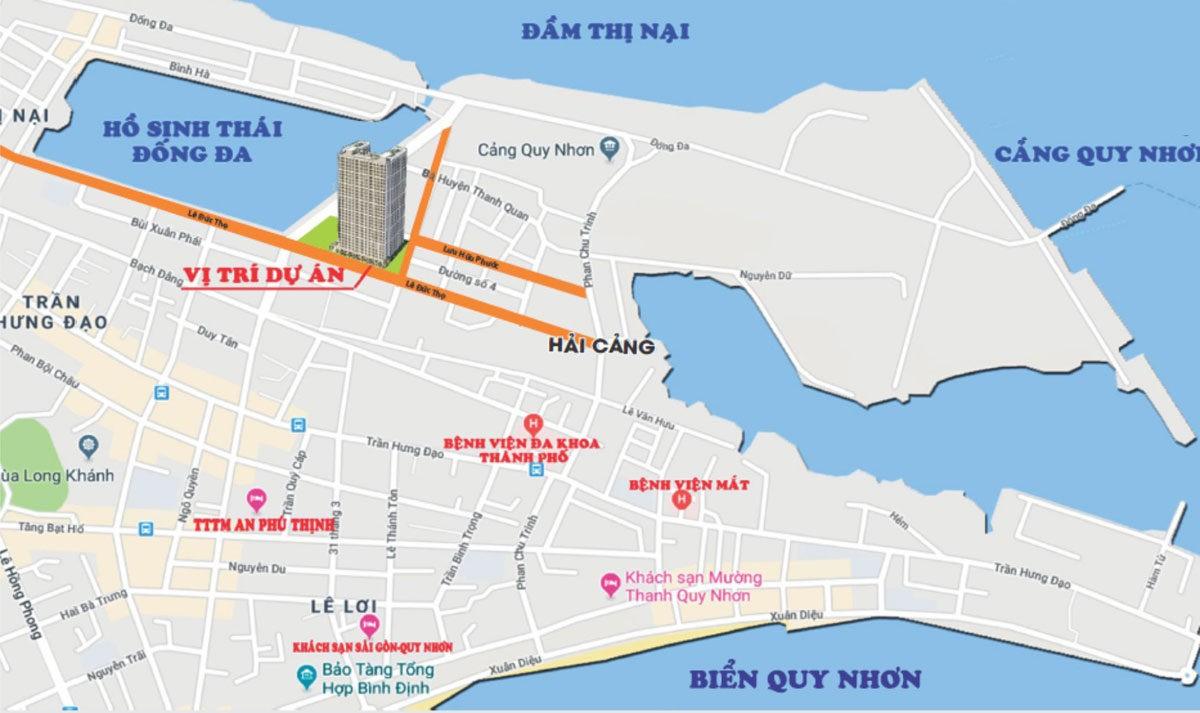 vi tri du an can ho Phu Tai Residence