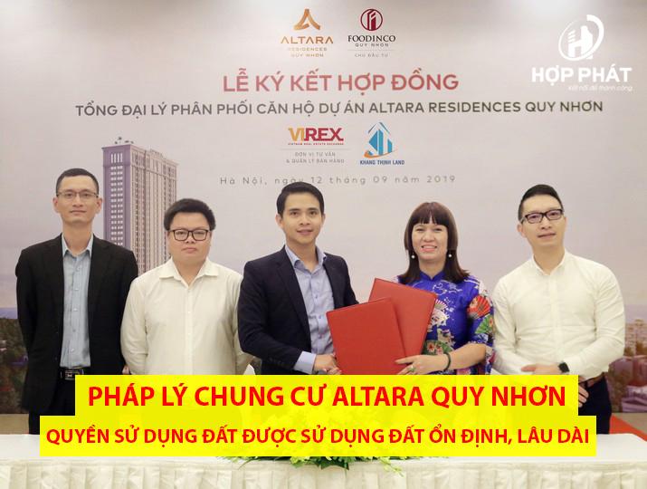 PhÁp LÝ Dự án Chung Cư Altara Quy Nhơn