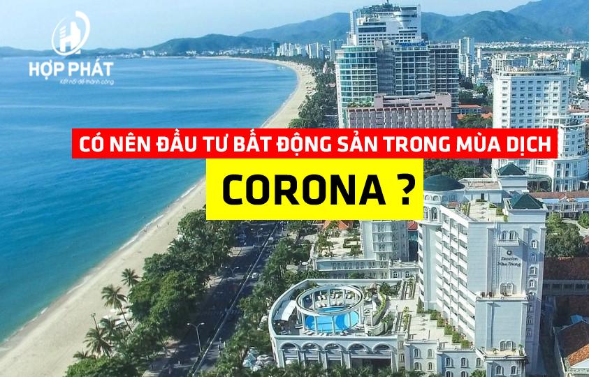 đầu tư bất động sản trong mùa corona 19