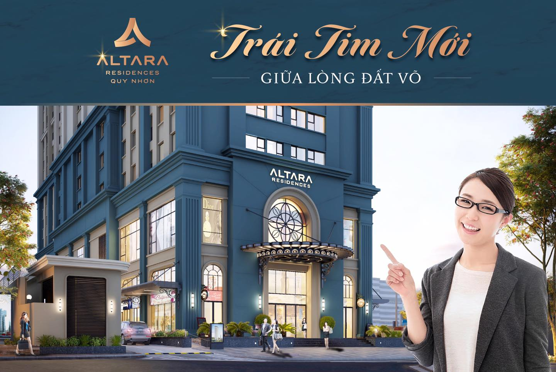 tiến độ xây dựng chung cư Altara Quy Nhơn tháng 8/2020