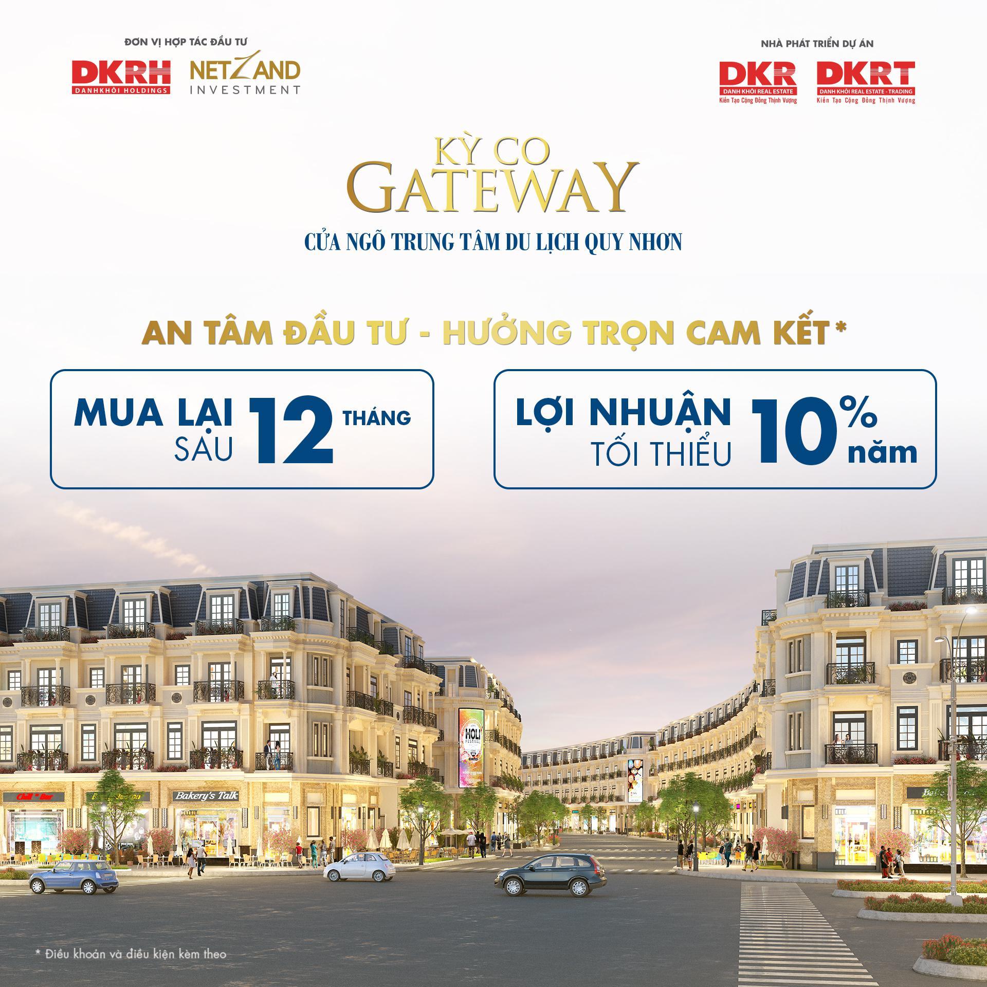 TIỀM NĂNG SINH LỜI Kỳ Co Gateway (Phân khu 9)