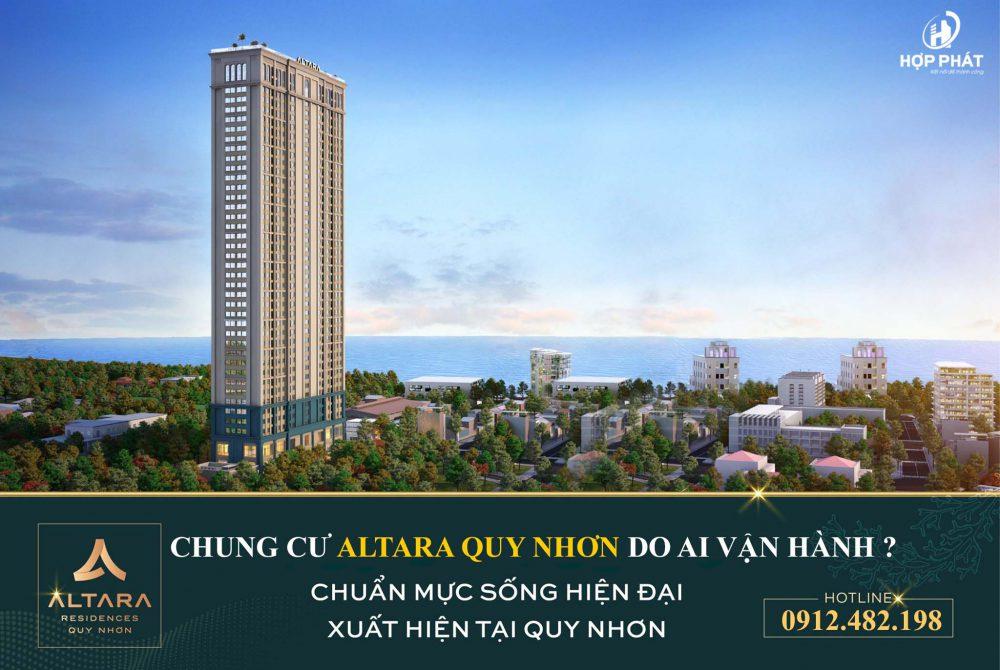 Chung CƯ Altara Do Ai VẬn HÀnh