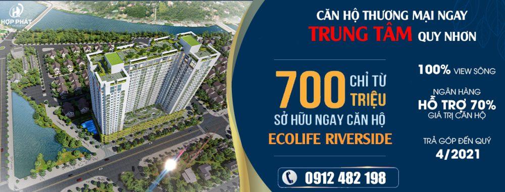 Ecolife Riverside Quy Nhon Hop Phat Land 0912482198