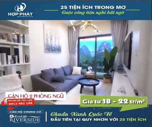 Video Can Ho Mau Chung Cu Ecolife Quy Nhon