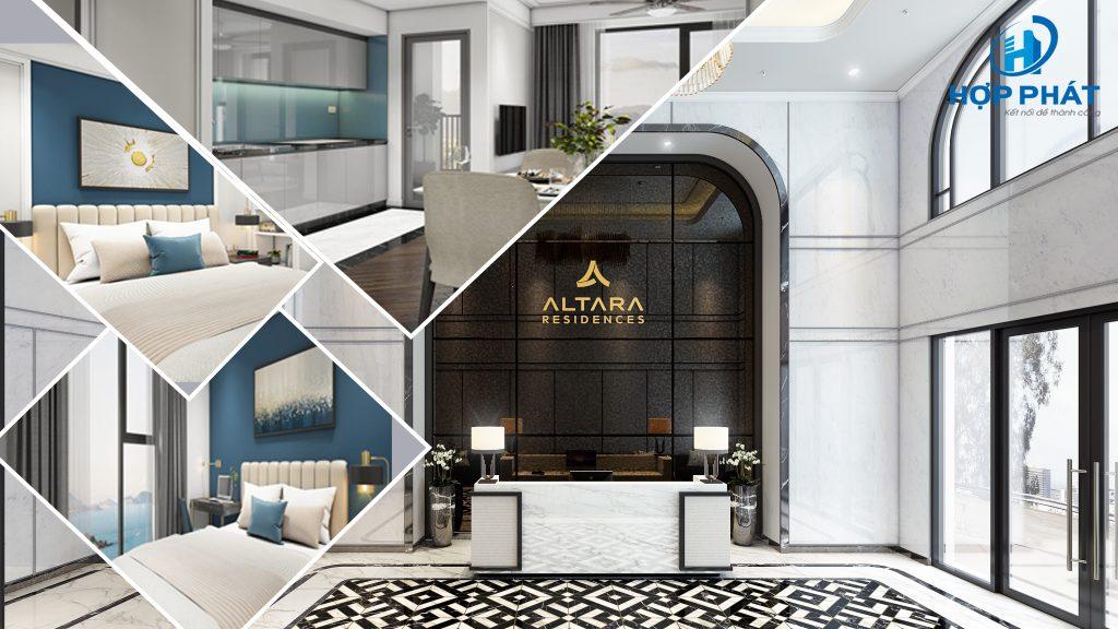 các loai căn hộ của chung cư Altara Quy Nhơn