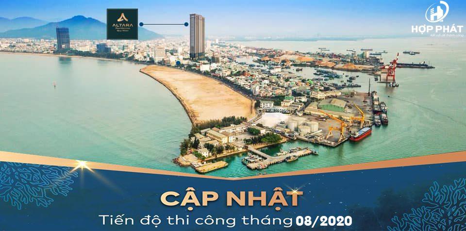 TiẾn ĐỘ XÂy DỰng Chung CƯ Altara Quy NhƠn ThÁng 08 2020