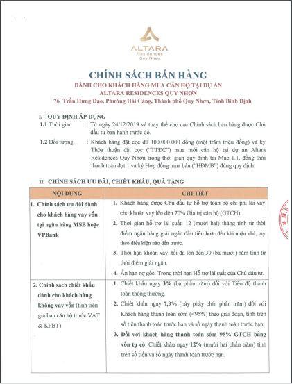 Chinh Sach Ban Hang Altara Quy Nhon 1
