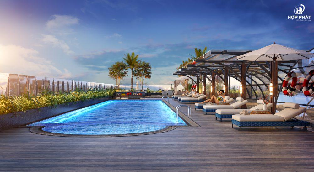 Bể Bơi Ngoài Trời Và Bar Của Altara Quy Nhơn 2