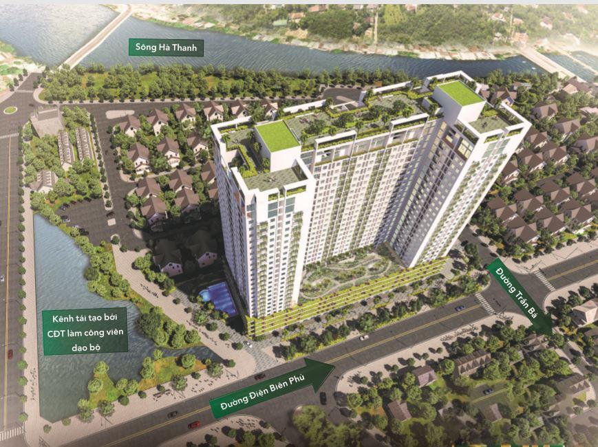 Vị trí chung cư Ecolife Quy Nhơn tại p. Nhơn Bình