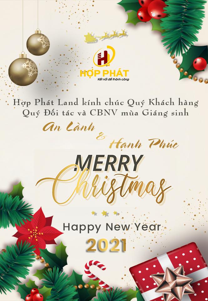 MERRY CHRISTMAS - HỢP PHÁT LAND