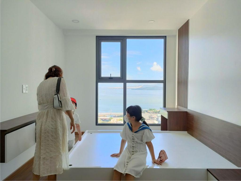 bàn giao căn hộ phú tài residence