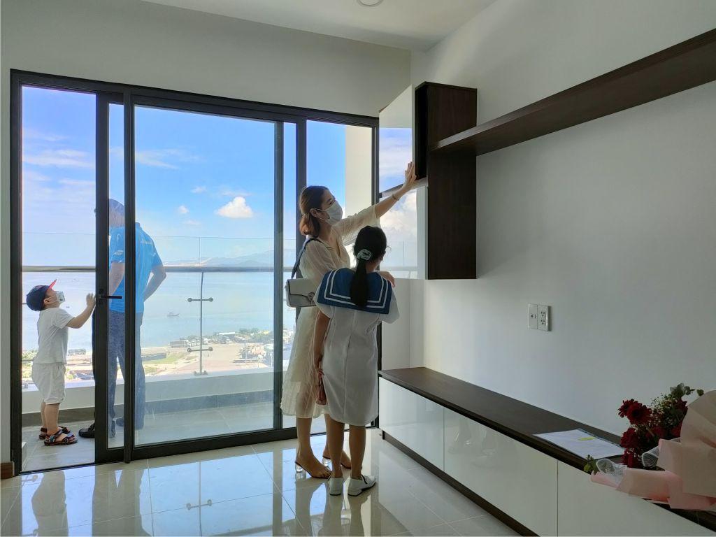 lễ bàn giao căn hộ phú tài Residence
